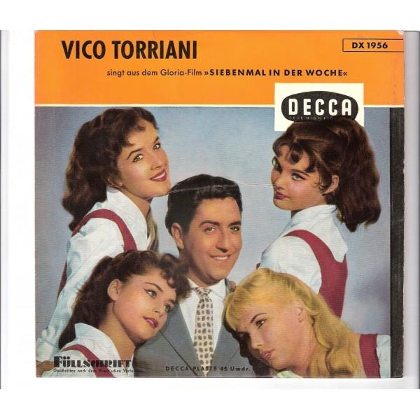 vico torriani siebenmal in der woche ep. Black Bedroom Furniture Sets. Home Design Ideas
